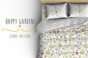 Happy Garden Patterns