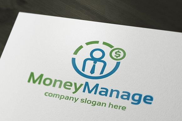 Money Manage Logo Templates Creative Market