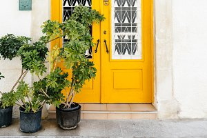 The classical mediterranean door