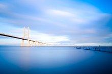 Vasco da Gama bridge in Lisbon, Portugal 2.jpg