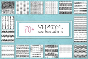 76 Whimsical inky patterns