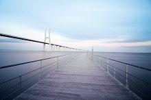 Vasco da Gama bridge in Lisbon, Portugal 5.jpg
