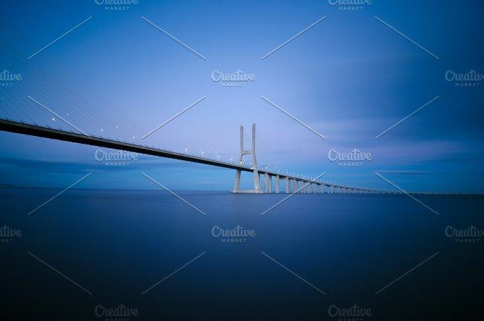 Vasco da Gama bridge in Lisbon, Portugal 6.jpg - Photos