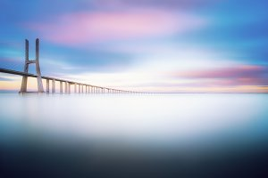 Vasco da Gama Bridge in Lisbon, Portugal 9.jpg