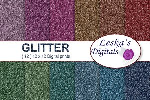 Glitter Textures, Sparkle Background