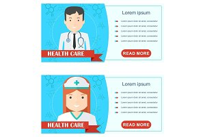 doctor health care poster