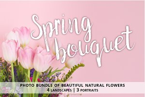 Spring bouquet bundle