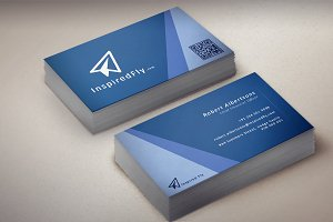 Waves - Horizontal Business Card
