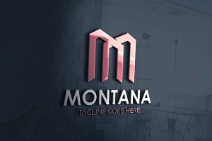 Montana - M Letter Logo