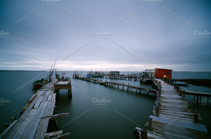 Old pier at Carrasqueira Palaphitic port copia Portugal 6.jpg - Architecture