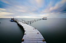 Old pier at Carrasqueira Palaphitic port Portugal.jpg