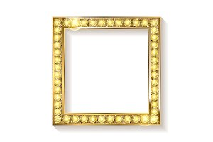 2 Gold frame cinema