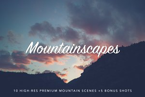 Mountainscapes Photo Pack