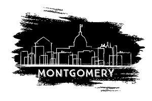 Montgomery Skyline Silhouette.