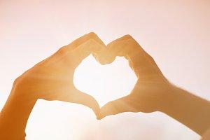 heart hand love