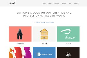 Farad WordPress Theme