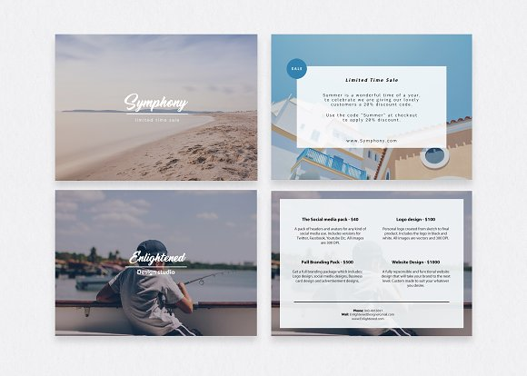 Postcard Flyer Templates Templates Creative Market