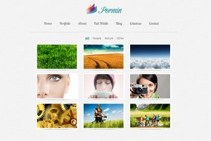 Pormin - Site Template