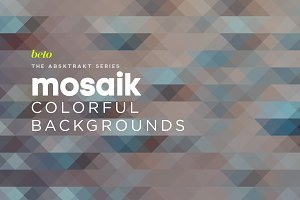 Mosaik Colorful Backgrounds