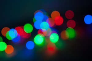 Abstract defocused lights