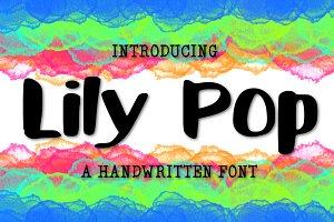 Lily Pop a Handwritten Font