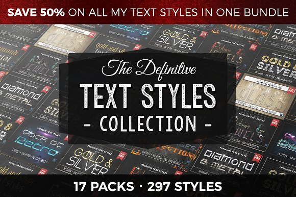 Definitive Text Styles Collection