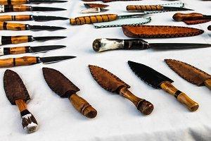 Knifes Background