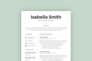 Professional Resume Template 01