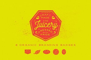 Organic Branding Badges