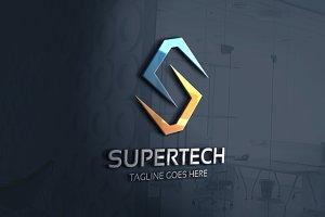 Supertech -  Letter S Logo