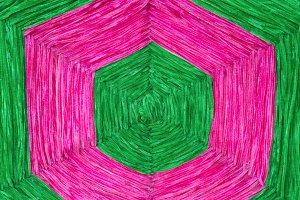 Raw silk thread for background.