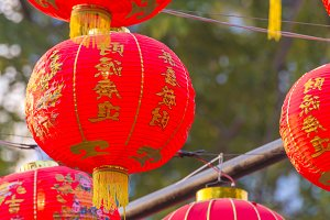 Traditional Chinese lantern