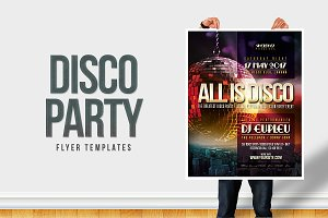 Disco Party Flyer / Poster