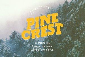 Pine Crest Rustic Serif Font