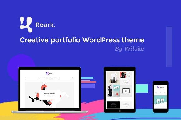 Roark Minimal Portfolio WordPress