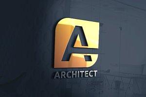 Architect - Letter A Logo