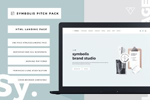 Symbolis Bootstrap Landing Page