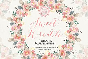 Sweet wreath design