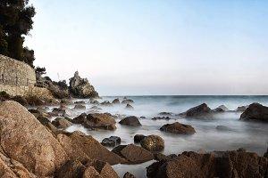 landscape sea of the Costa Brava