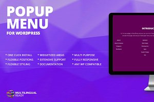 Popup Menu WordPress Plugin