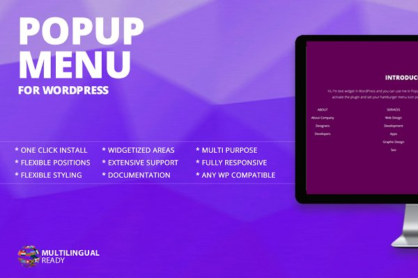 WordPress Plugins: themeofwp - Popup Menu WordPress Plugin