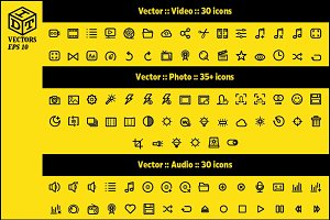 2600+ Vector Icons Pack | Part1