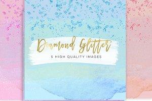 glitter diamond paper,
