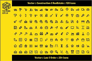 2600+ Vector Icons Pack | Part2