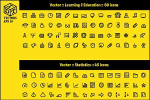 2600+ Vector Icons Pack | Part3