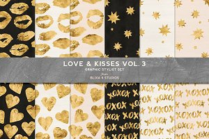 Love & Kisses Vol. 3: Warm Gold
