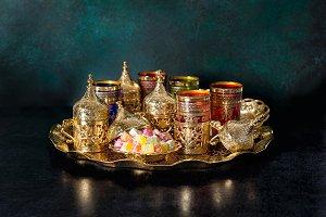 Oriental hospitality. Ramadan kareem