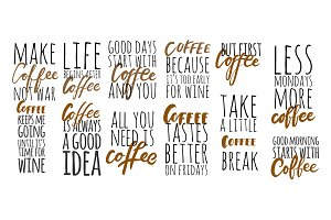 12 coffee quotes