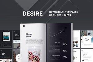 A4 | Desire Keynote Presentation