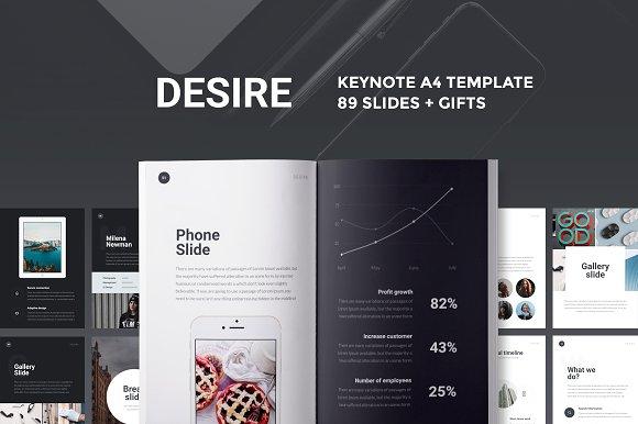 A4 Desire Keynote Presentation